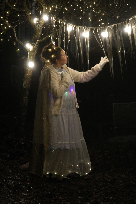 """Anna-Leena Tuohimaa as """"Light Being""""  Photocredit - Minkun Matkassa"""