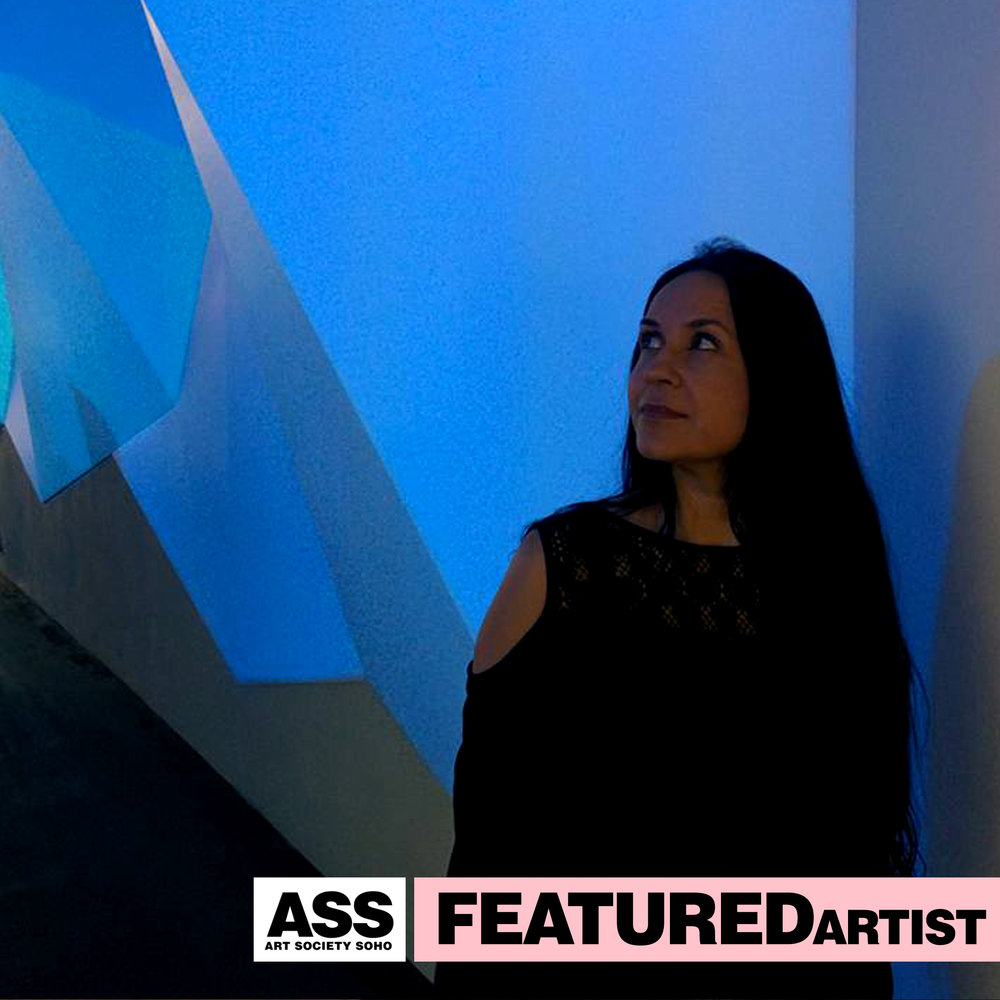Visual Artist, Painter  Maria Mughal   8th Featured Star of 2018