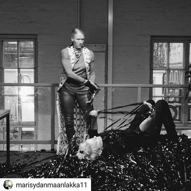 #Repost @marisydanmaanlakka11 • • • • • Also #muisti #recall was at the opening. Loving VHS. #vhs #marisydänmaanlakka #ASS-H #reality