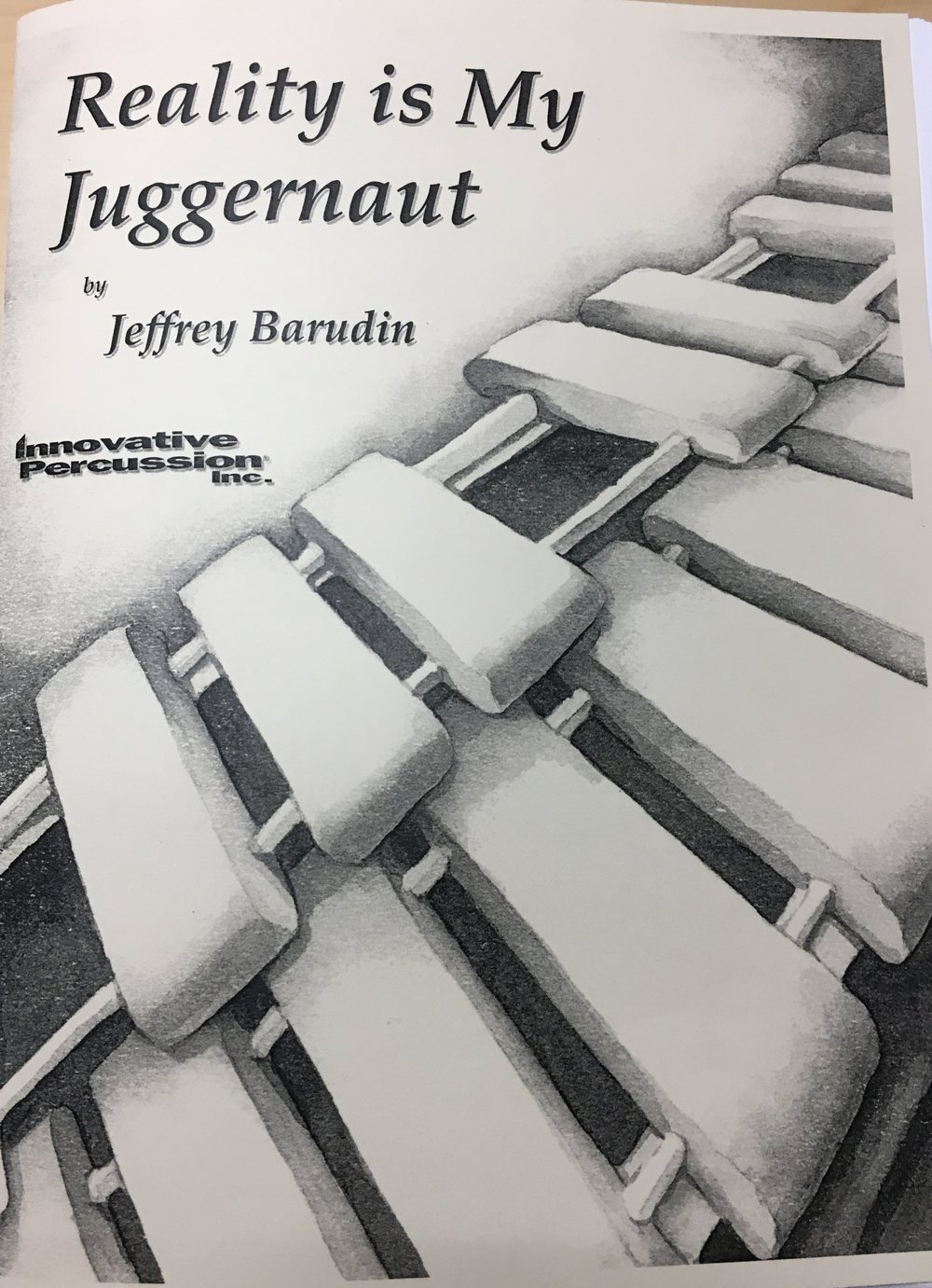 Reality is My Juggernaut - Written for 4 percussionistsAvailable for purchase in Fall 2018World Premiere performance on July 25, 2018 with Identity Cubed and the composer