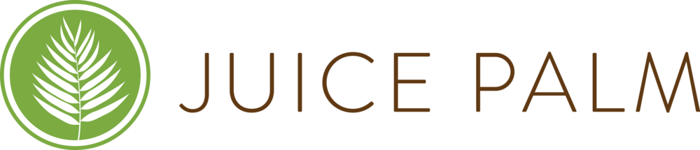 Juice Palm Logo Horizontal Green and Brown.png