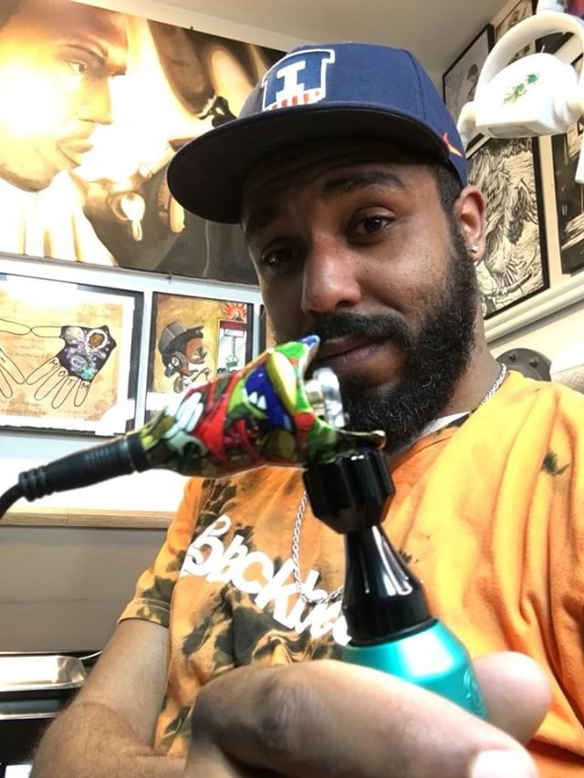 Trison Moss - Trison has been tattooing for over 9 years and ranges in variety of styles from new school to black and gray.