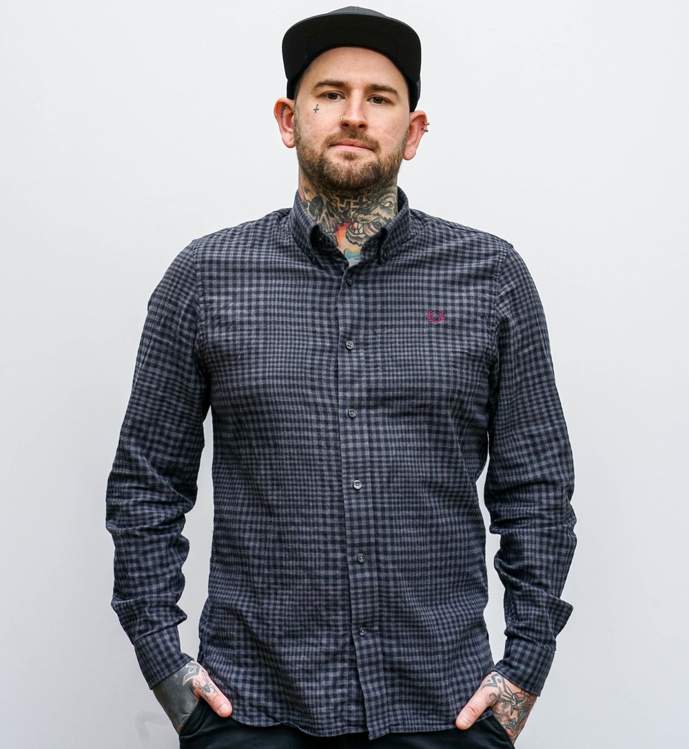 Gavin Dunbar - Gavin has been tattooing for just over 10 years, and tattoo in multiple styles, but specializes in black and grey and color realism. He is based in Tunbridge Wells, Kent, but travels to multiple conventions and guests spots around the world. Click his picture to check out his work!