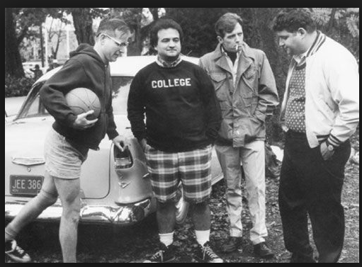 In college, everybody admired Jim's shorts.