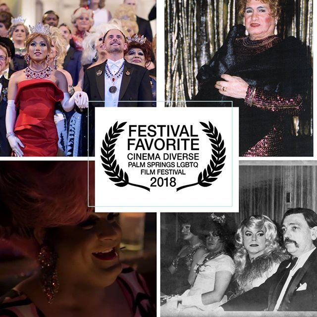 ** FESTIVAL FAVORITE! ** Thank YOU Palm Springs! 🙏 The votes are in … 50 Years of Fabulous: The Imperial Council Story WINS the Festival Favorite Award at @CinemaDiverse! ✨👑✨ #LGBTQ #50YearsOfFab #LGBTHistoryMonth ❤️🏳️‍🌈 #JoseSarria #lgbt #pride #equality #queer #lgbtpride #diversity #palmsprings #filmfestival #filmfest #drag #dragqueen #imperialcouncil #imperialcourt #gay #makeup #instagay #dragrace #queen #lgbtq #instadrag #love #dragqueens #gaypride #causes #charity @jethrocuenca @dilasso1
