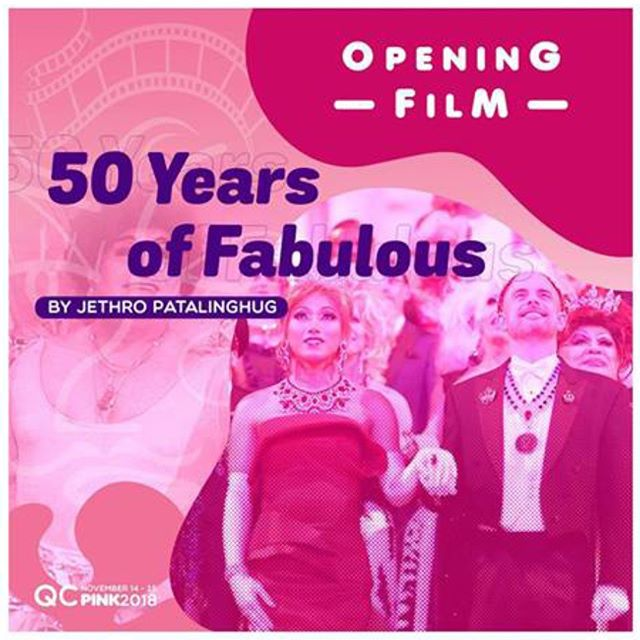 ** OPENING FILM ** 50 Years of Fabulous: The Imperial Council Story opens the Quezon City International Pink Film Festival (QCIPFF) 2018 on Wednesday, November 14th at 6pm, with a second screening the following day at 6:30pm. 🌈🎥 ✨👑✨ #50YearsOfFab #QCPink2018 ... Director @jethrocuenca and star @KhmeraRouge in attendance! #LGBTQ ❤️🏳️‍🌈 #JoseSarria #lgbt #pride #equality #queer #lgbtpride #diversity #filmfestival #filmfest #drag #dragqueen #imperialcouncil #imperialcourt #gay #makeup #instagay #dragrace #queen #lgbtq #instadrag #love #dragqueens #gaypride #causes #charity #QCIPFF💖 #PINK2018🌈