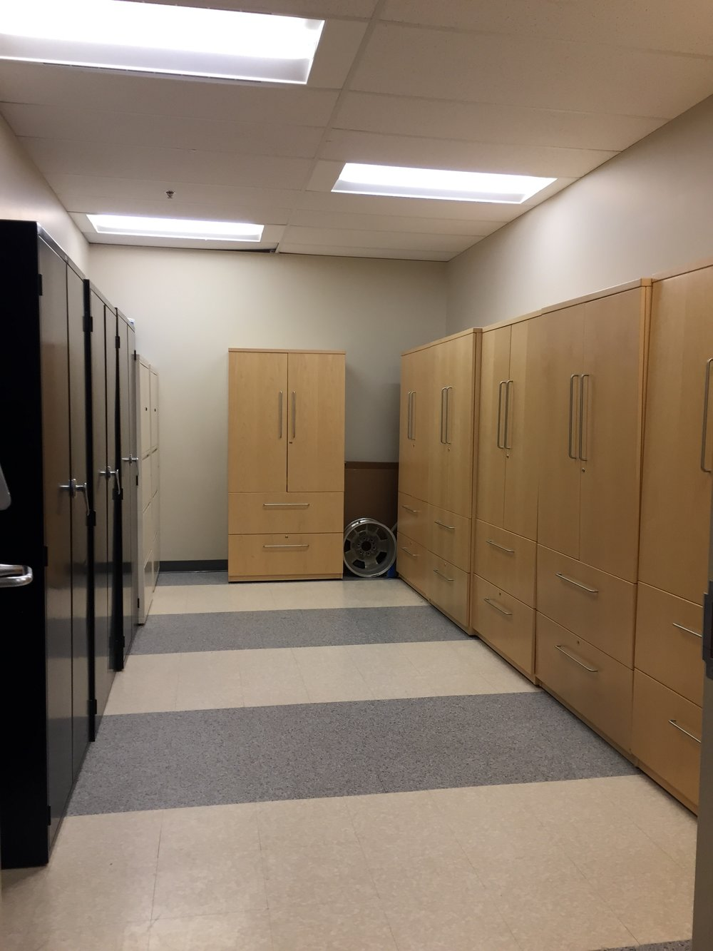 ReSourceYYC Locker Room