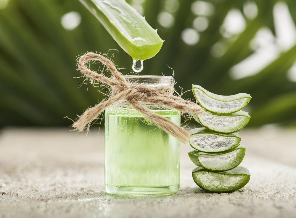 Organic Aloe Vera Leaf Juice