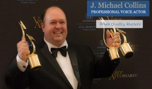 J.Michael Collins Voice-Over