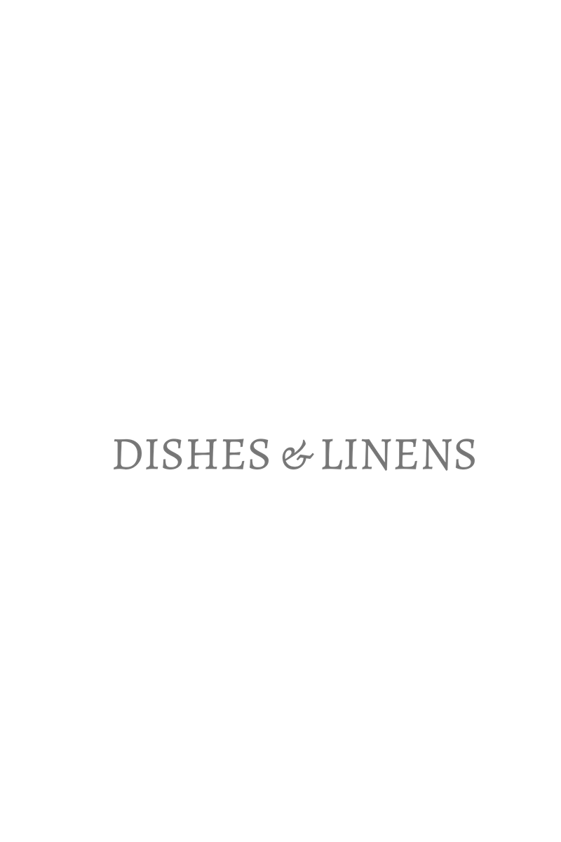 dishes and linens