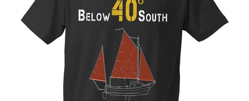 official gear - A collection of Official Below 40 South merchandise. All sales support the post-production phase of the film.