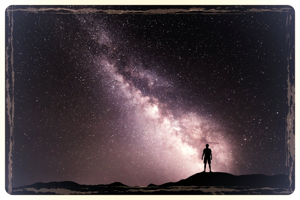 - The universe is.Yet, there is no answer why;beautiful.