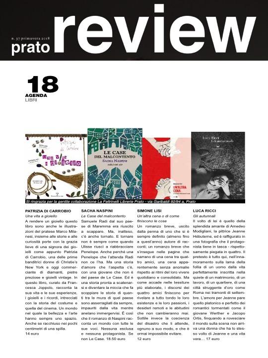 Prato Review Spring 2018