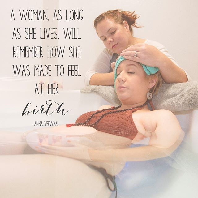 Invest as much into your birth as you do you wedding.  You won't regret the comfort and confidence that a #doula can provide.  Special thanks to @millerbirthservices and @edmondbirthcenter