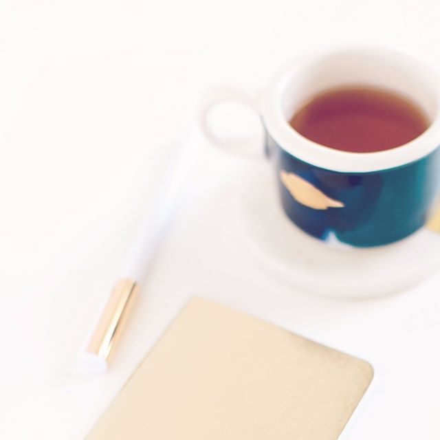 About to rev up some serious editing time.  What is your favorite way to get your juices flowing?  #workmode #teatime