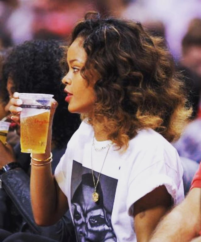 Drink beer. Watch sports. #waypointpublic @badgalriri