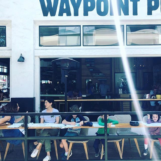 We've got a patio for all your pups! It's Sunday. It's sunny. Come brunch! ☕️🍳🥓🥞🍾 #northpark #eatwelltraveloften #sandiego #bloodymary #eggs #coffee #bacon