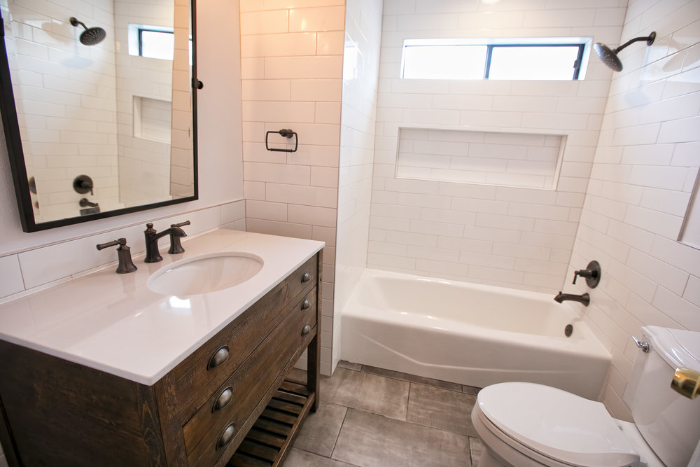 INDUSTRIAL BATH Austin Remodel Simple Bathroom Remodel Austin Concept