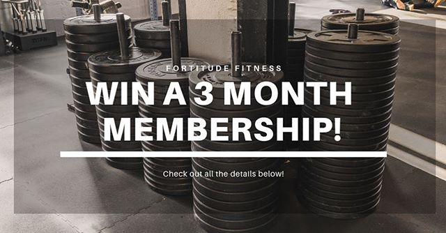 Comment your guess of the total weight, in pounds, of the equipment and mats in our 6k sq ft facility including @roguefitness @getrxd and the floor mats! Follow us @fort.fit.cf Share this on your page or story. Tag 3 friends! • No really, that's it. Just follow these steps and DM us a  once completed. • PRIZES:  For those that are brand new to our gym, one lucky non-member which guesses closest to our number will win a complimentary 3-month membership AND two personal training sessions and a t-shirt. 2nd and 3rd place will also get a free month PLUS two personal training sessions and a t-shirt.  Note that prizes are transferable if you want to gift them to someone local! • And there is a separate top prize for current members too!  One of our own will receive a gift basket including two one on one skill sessions, a long-sleeve hoodie, and protein. • Submissions will be accepted through Nov and winners will be announced @fort.fit.cf early Dec!