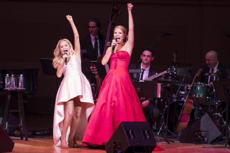 Kristin Chenoweth and Kelli O'Hara Carnegie Hall