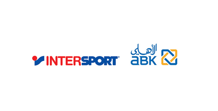 Intersport logo and ABK logo