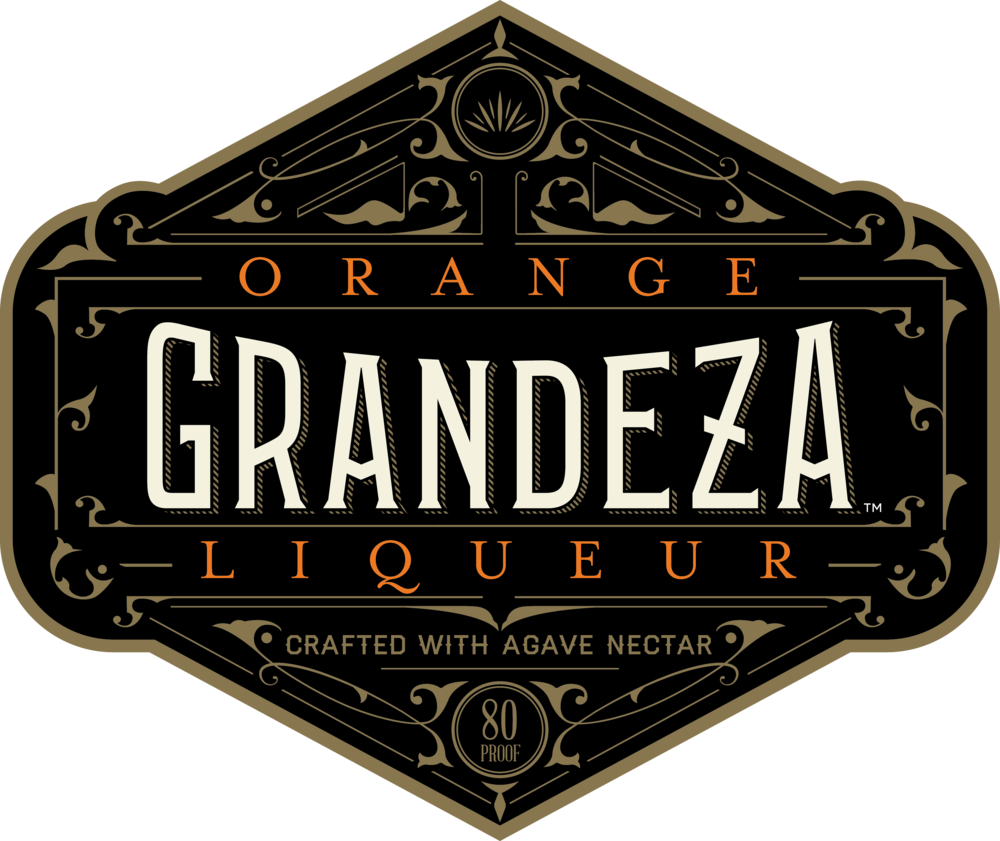 Grandeza for swag Black - Orange Letters.png