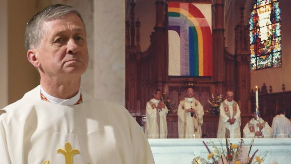 Cupich gay flag.jpg