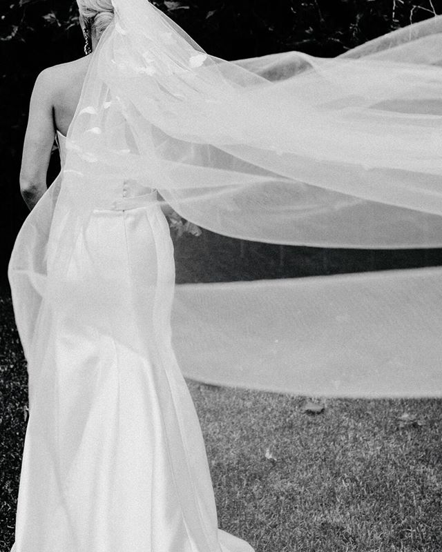I'm little obsessed with what wind does to fabrics ?  Kate's veil: @heracouture  Dress: @kwhbridal