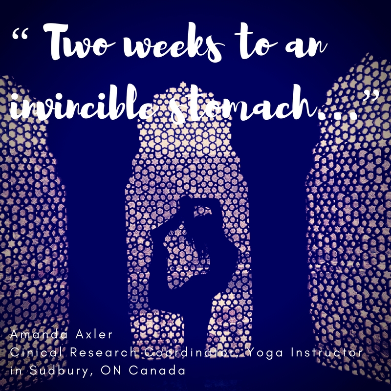 """""""Two weeks to an invincible stomach! ..."""""""