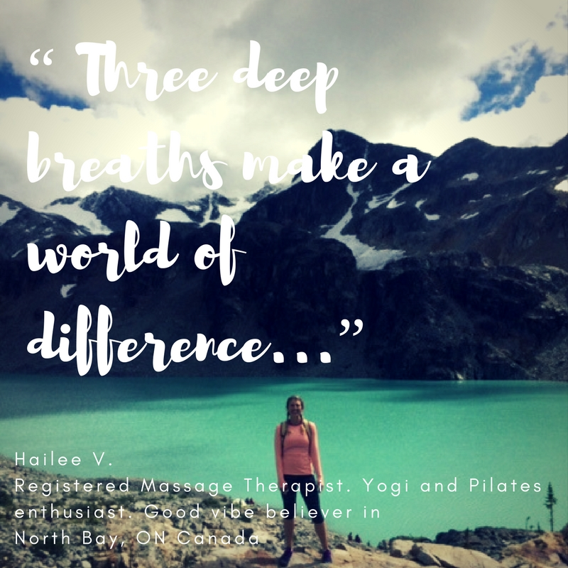 """""""Three Deep Breaths can make a world of Difference..."""""""
