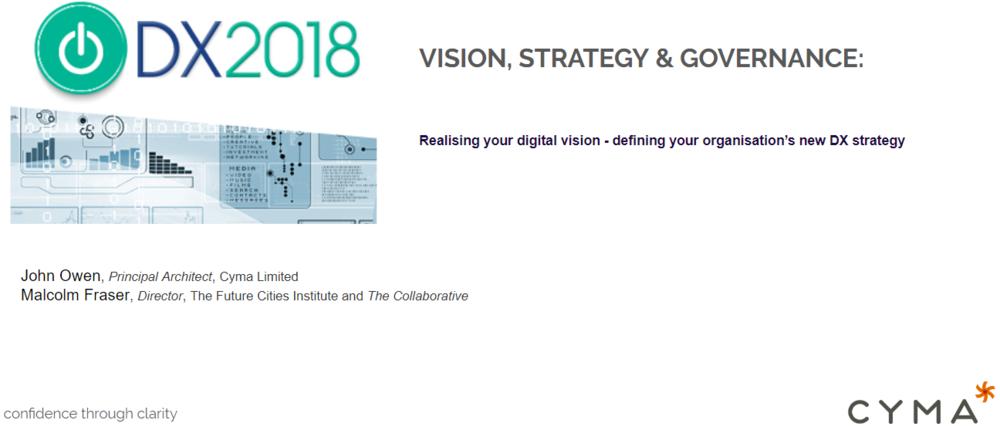 DX Concference 2018 John Owen Keynote