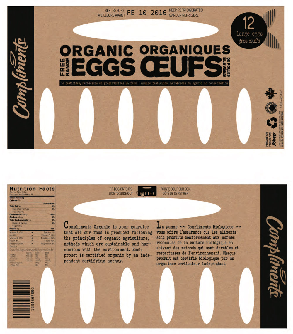 Final egg carton redesign.