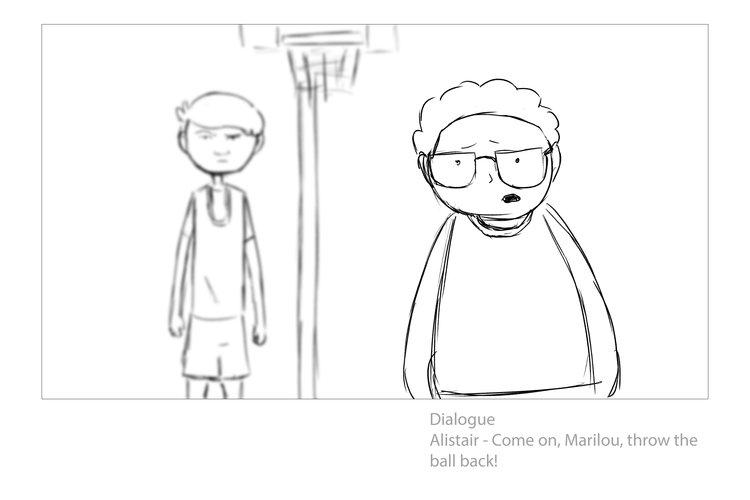 Storyboards — Kristoffer Hansen