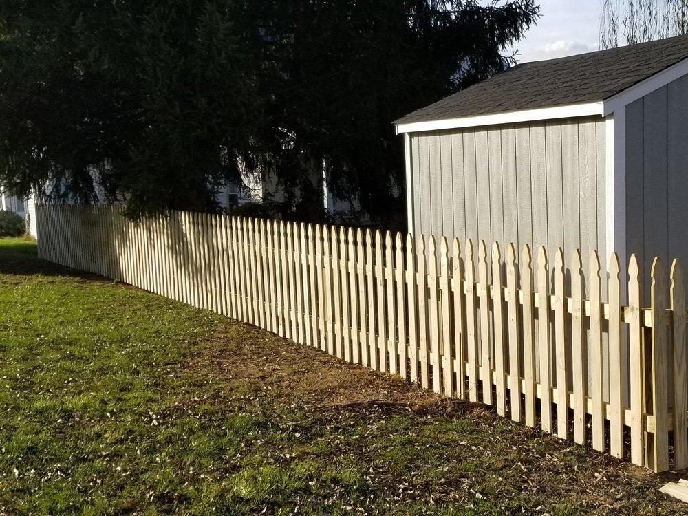 New Fence 145 Feet