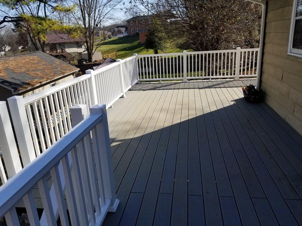 New Deck 600 Sq. Feet