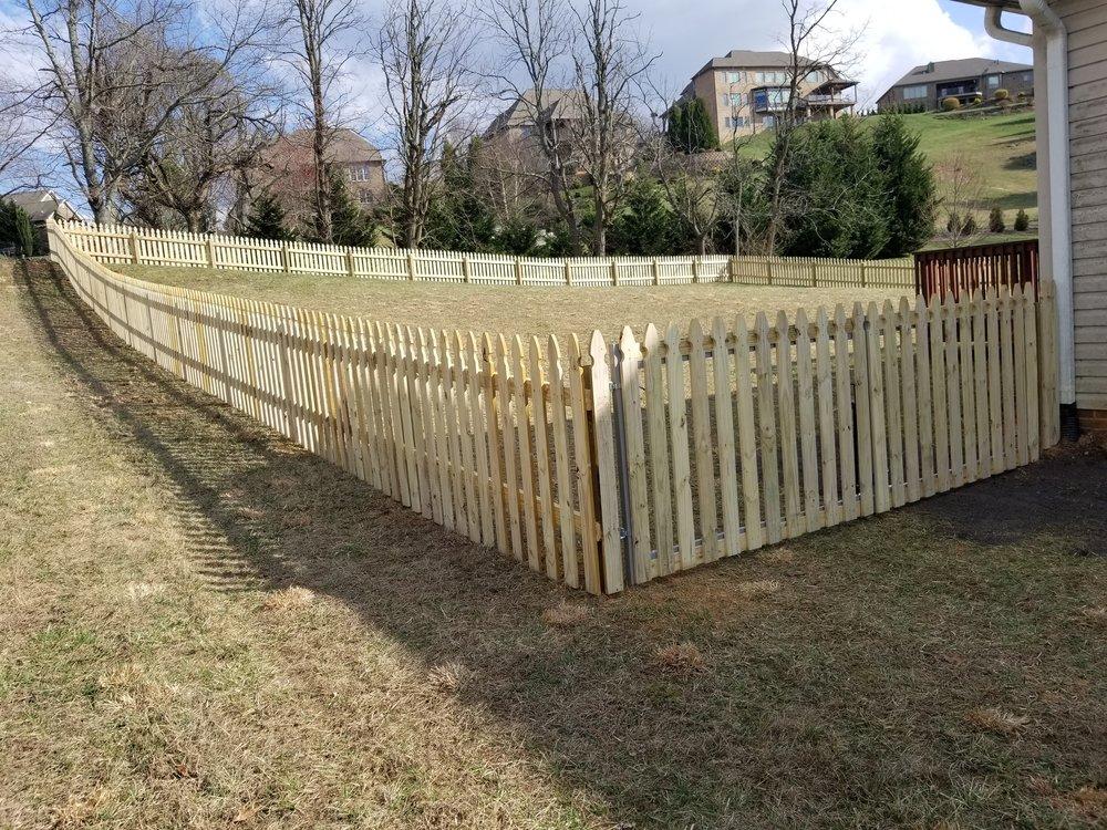 New Fence 300 Feet