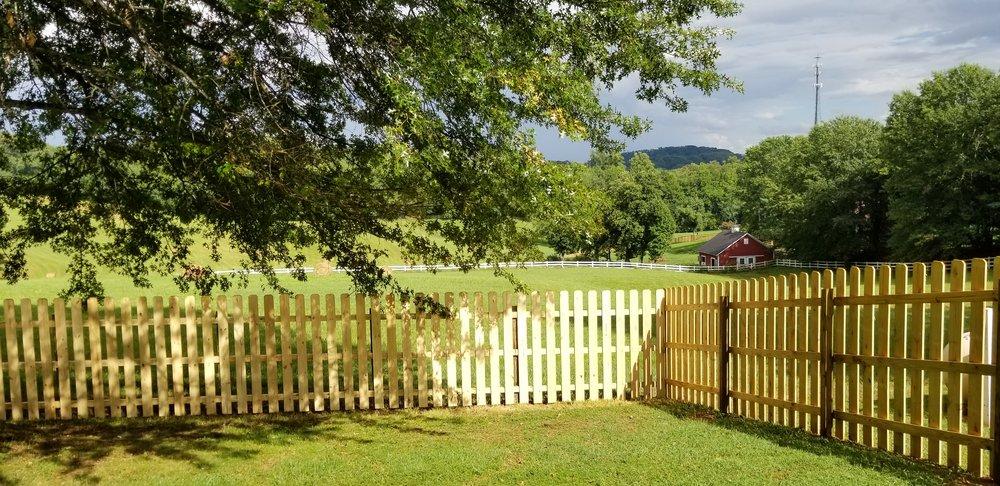 New 6 Foot Wood Fence (Jonesborough, Tn)