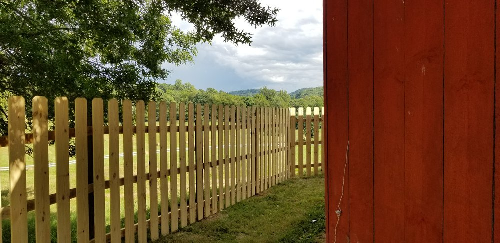 New 6 Foot Wood Fence ( Jonesborough, Tn )