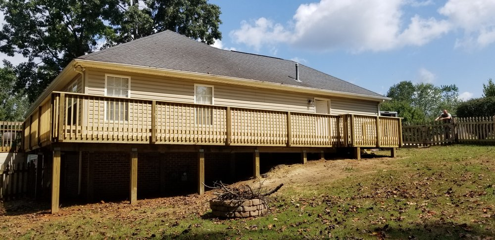 New Wood Deck ( Johnson City, Tn )