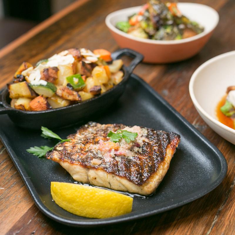 Newtown Seafood restaurant Salmon & Bear