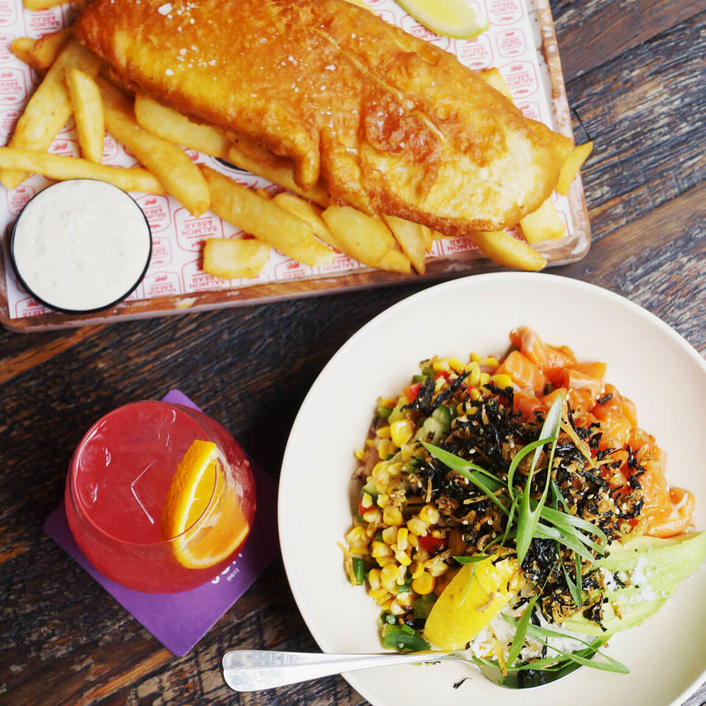 Fish & Chips offer with Dendy Cinema