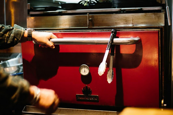 salmon and bear's mibrasa oven is perfect for chargrilling
