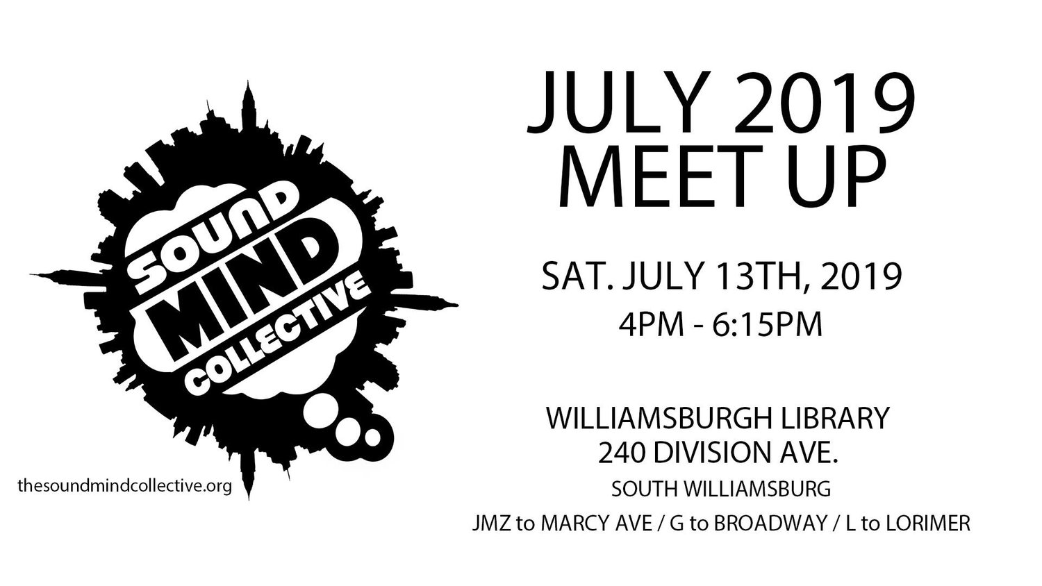 Events — The Sound Mind Collective : Brooklyn, NY
