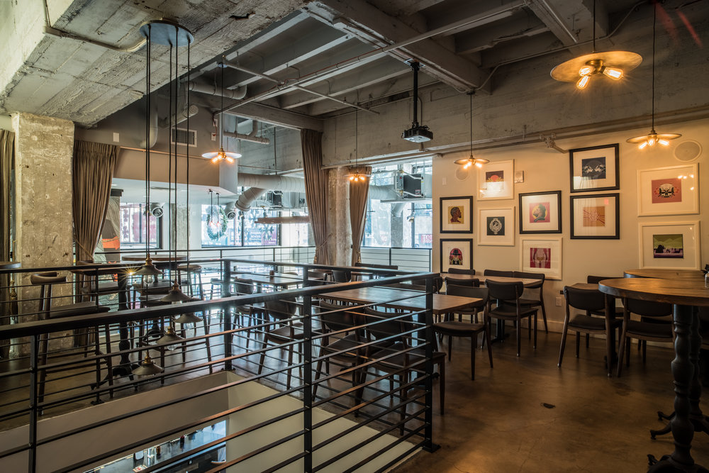 """KAI's 50 seat room, """"The Meazzanine Room"""" features a temperature-controlled wine cellar, displays of more wine and a private atmosphere. A semi-private room, """"Barbaresco,"""" is available for other occasions. - the mezzanine room"""