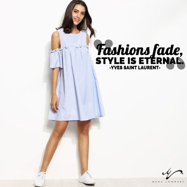 """Fashions fade, style is eternal."" —Yves Saint Laurent #fashionstyle #fashion"