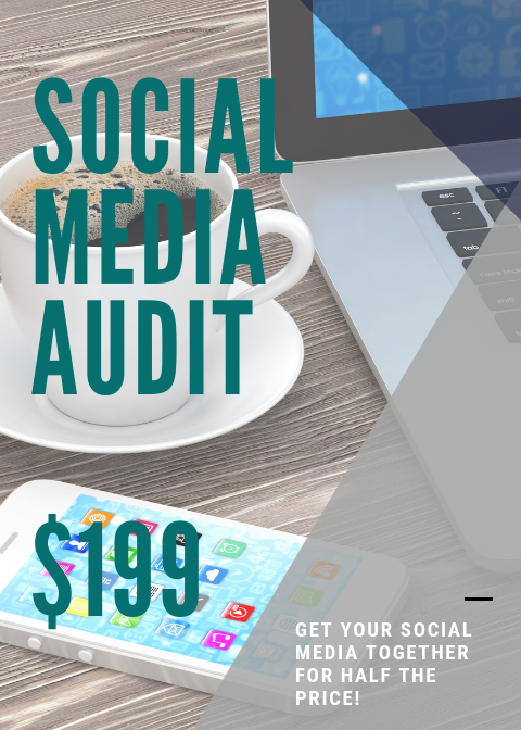 Sign Up to Get Your Promo Code Today! - A social media audit is a key resource in having a successful social media marketing plan. The social media audit's purpose is to make sure that you brand is functioning cohesively across platforms. This audit will ensure that you are using platforms correctly and identify where adjustments need to be made.Includes:Assessment of current social media usage and presenceAnalysis of current competitive landscape in your marketSocial media listeningDevelopment of goals and next steps