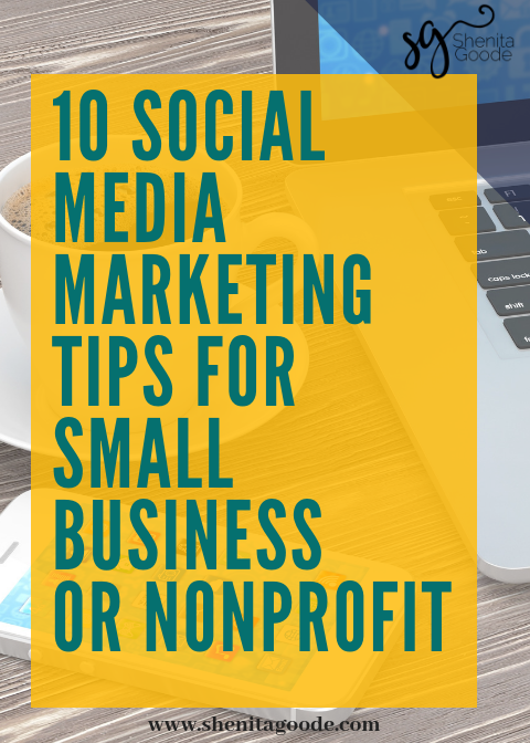 Sign up below to receive your 10 Free Social Media Marketing Tips for Small Business and Nonprofits -
