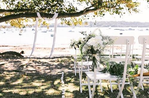 'Hamptons' style setting
