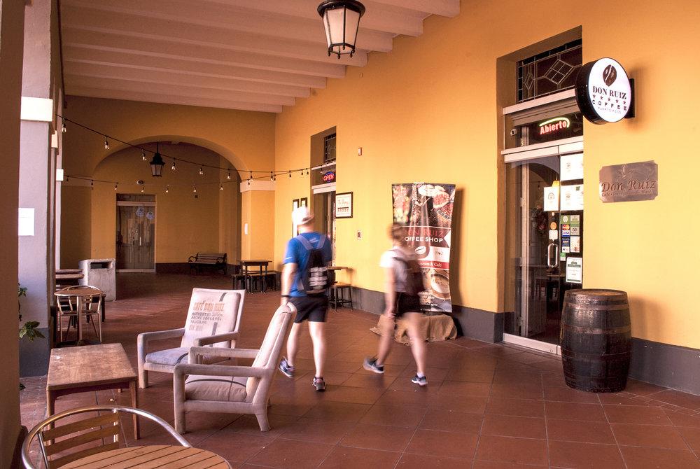 Café Don Ruiz - Norzagaray Street,inside Cuartel de Ballajá, OSJ