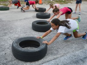 An Early Start on Fitness - Herald-Tribune- June 10, 2014
